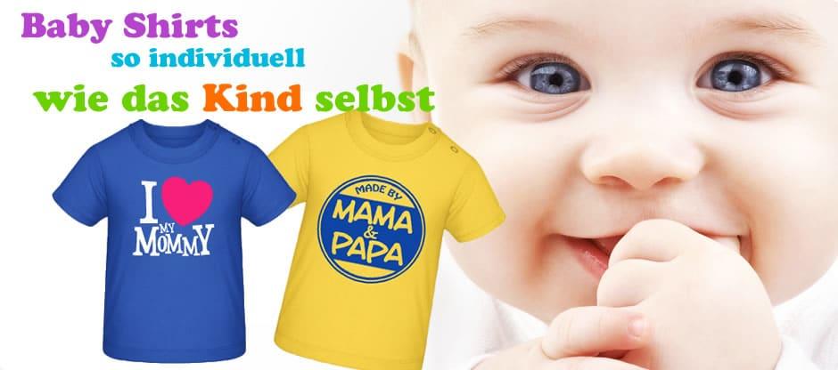 Baby T Shirts Bedrucken Und Online Selber Gestalten